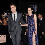 Robert Pattinson y Kristen Stewart en el estreno de 'Amanecer. Parte 1' en Los Ángeles
