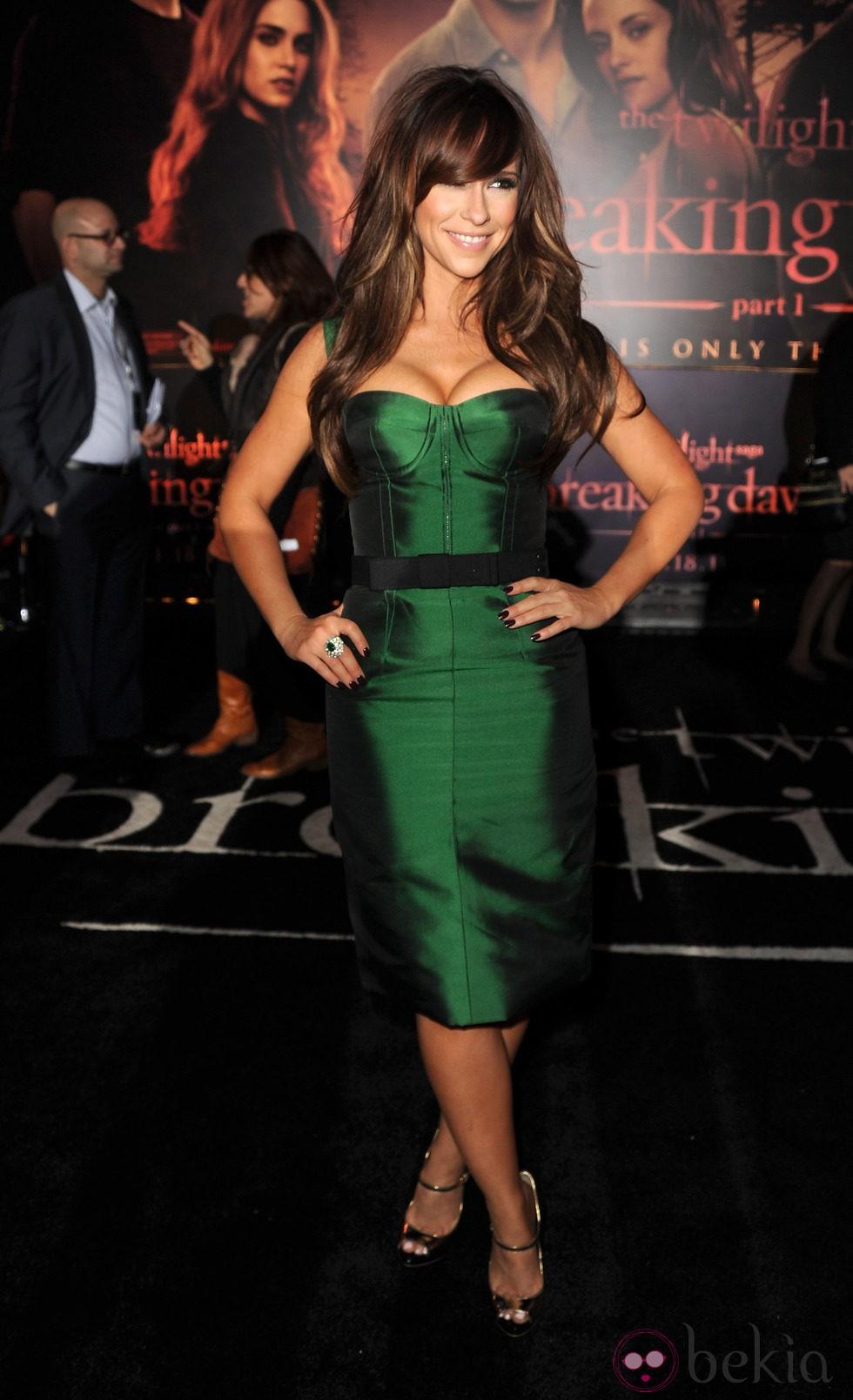 Jennifer Love Hewitt en el estreno de 'Amanecer. Parte 1' en Los Ángeles