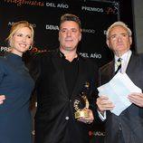 Judit Mascó, Loquillo y Luis del Olmo en los Premios Protagonistas 2011