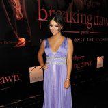 Fivel Stewart en el estreno de 'Amanecer. Parte 1' en Los Ángeles