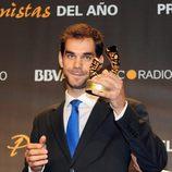 José Manuel Calderón en los Premios Protagonistas 2011