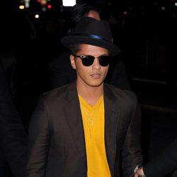 Bruno Mars en el estreno de 'Amanecer. Parte 1' en Los Ángeles