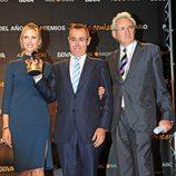 Judit Mascó, Jordi González y Luis del Olmo en los Premios Protagonistas 2011