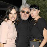 Elena Anaya, Pedro Almodóvar y Rossy de Palma en el homenaje a Pedro Almodóvar en el MoMA