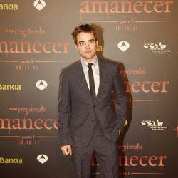 Robert Pattinson en el estreno de 'Amanecer. Parte 1' en Barcelona