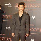 Taylor Lautner en el estreno de 'Amanecer. Parte 1' en Barcelona