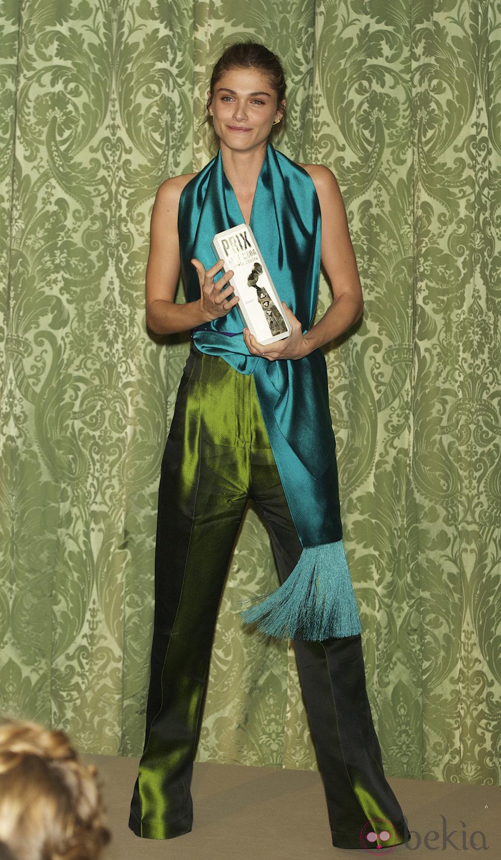Elisa Sednaoui en los Premios Prix de Moda de Marie Claire 2011