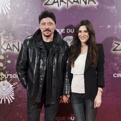 Carlos Bardem y Cecilia Gessa en el estreno de Zarkana