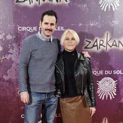 Luis Miguel Seguí y Antonia San Juan en el estreno de Zarkana