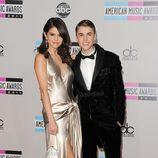 Selena Gomez y Justin Bieber en los American Music Awards 2011