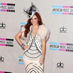 Phoebe Price en los American Music Awards 2011