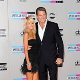 David Hasselhoff en los American Music Awards 2011
