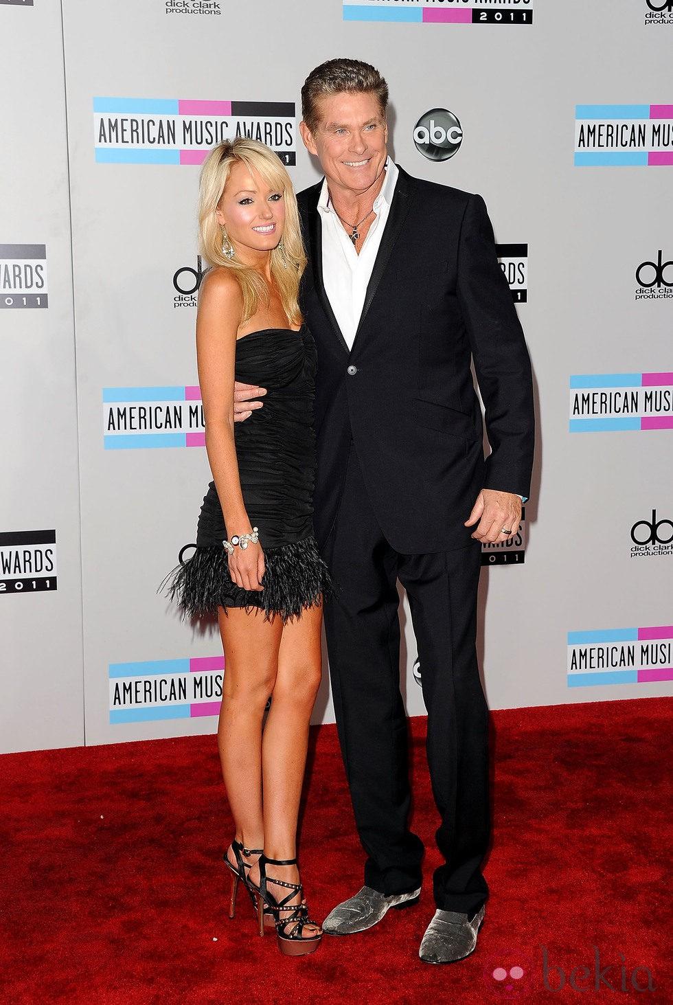 David Hasselhoff en los American Music Awards 2011