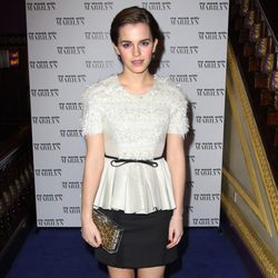 Emma Watson en el estreno de 'My week with Marilyn' en Londres