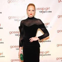 Kaylee DeFer en la fiesta de los 100 capítulos de 'Gossip Girl'