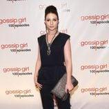 Michelle Trachtenberg en la fiesta de los 100 capítulos de Gossip Girl