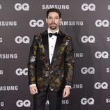 Adrián Lastra en los Premios GQ hombre del año 2017
