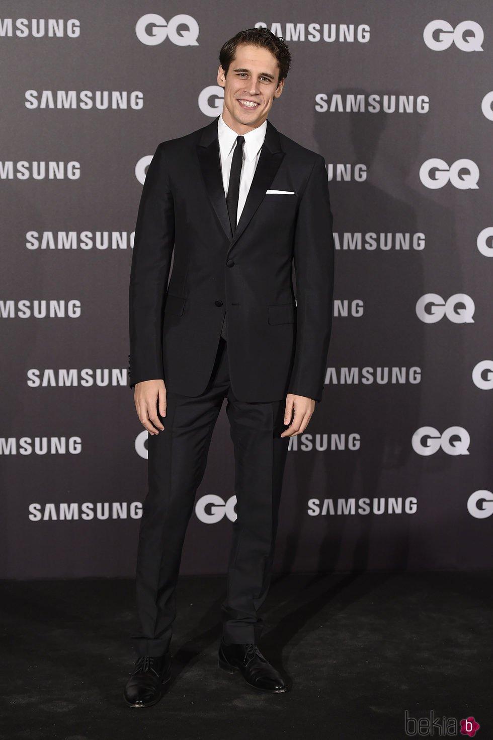 Martín Rivas en los Premios GQ hombre del año 2017