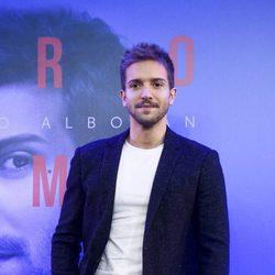 Pablo Alborán en la presentación de su nuevo disco 'Prometo'