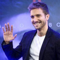 Pablo Alborán durante la presentación de su disco 'Prometo'
