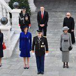 La Familia Real de Mónaco en el Día Nacional