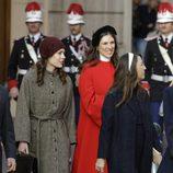 Carlota Casiraghi y Tatiana Santo Domingo en el Día Nacional de Mónaco
