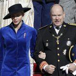 Charlene de Mónaco y el Príncipe Alberto en el Día Nacional de Mónaco siendo el centro de atención