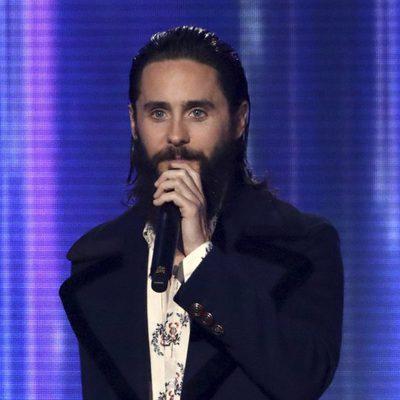 Jared Leto en los American Music Awards 2017