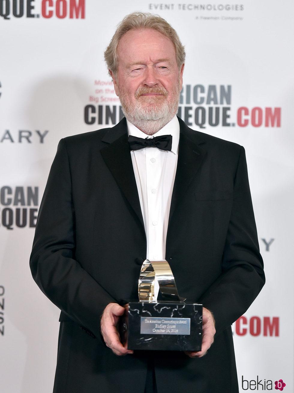 Ridley Scott recibe el premio American Cinematique