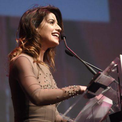 Ares Teixidó en la gala de los Premios Men's Health 2017