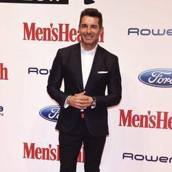 Jesús Vázquez en los premios 'Mens Health 2017'