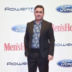 Secun de la Rosa en los premios 'Mens Health 2017'