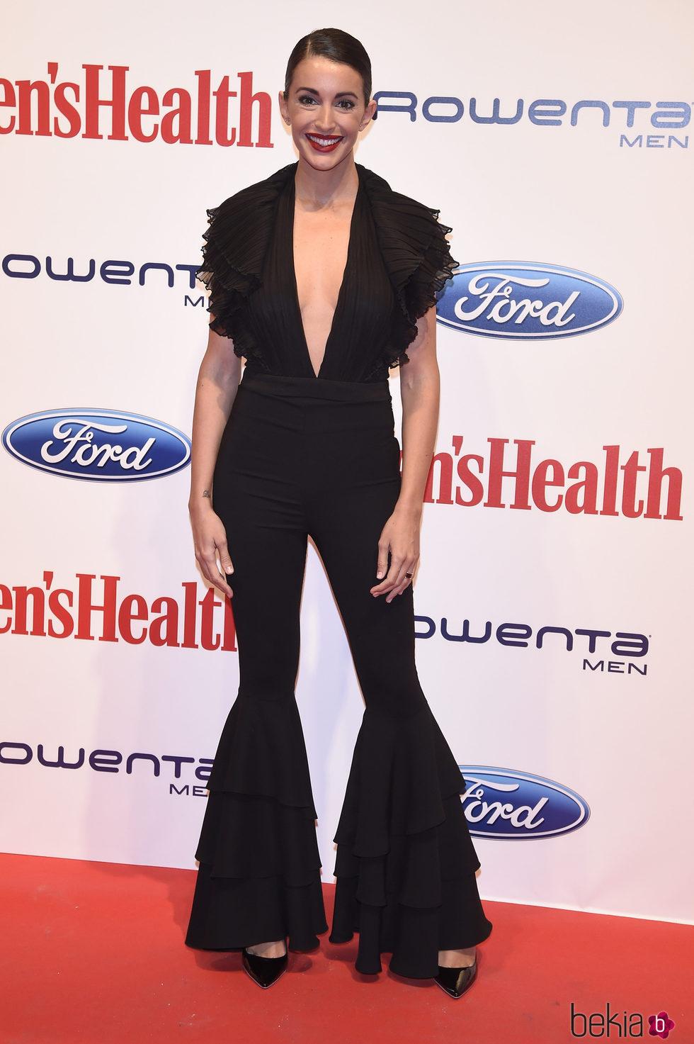 Noelia López en los premios 'Mens Health 2017'
