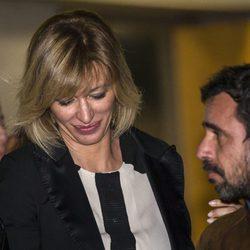 Susanna Griso, muy triste en el funeral de su madre