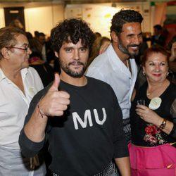 Miguel Abellán en el Rastrillo Nuevo Futuro