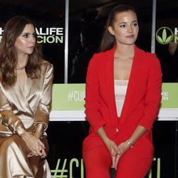 Melissa Jiménez y Malena Costa en un evento