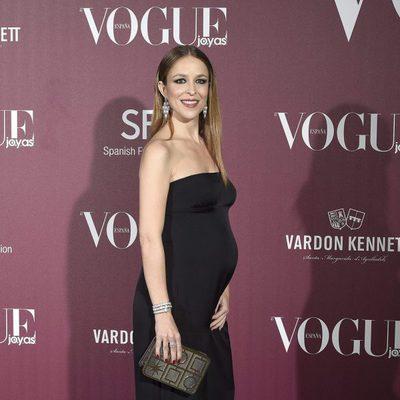 Silvia Abascal presume de embarazo en los Premios Vogue Joyas 2017