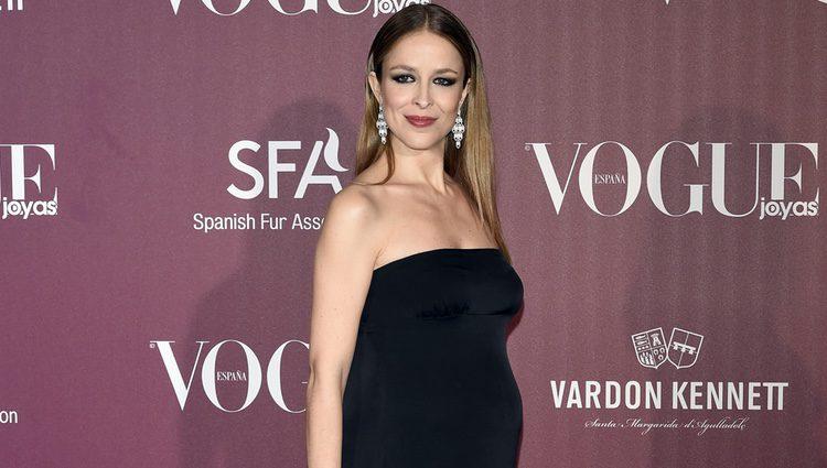 Silvia Abascal en los Premios Vogue Joyas 2017