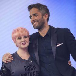Marina con Roberto Leal tras su expulsión en la Gala 5 de 'OT 2017'