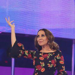 Mónica Naranjo presume de vestido en la Gala 5 de 'OT 2017'