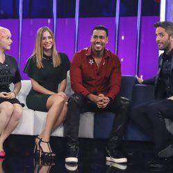 Las nominadas con Romeo Santos en la Gala 5 de 'OT 2017'