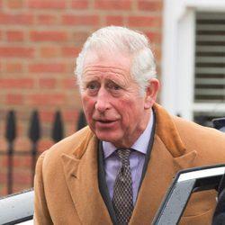 El Príncipe Carlos de Inglaterra acude a un acto público