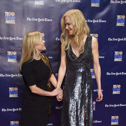 Nicole Kidman y Reese Witherspoon en los Gotham Awards 2017