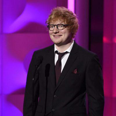 Ed Sheeran en la gala Billboard Women in Music 2017