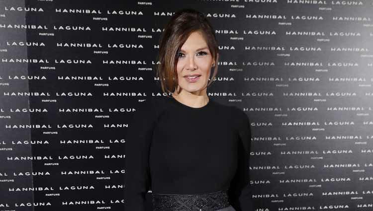 Ivonne Reyes en la cena aniversario de Hannibal Laguna