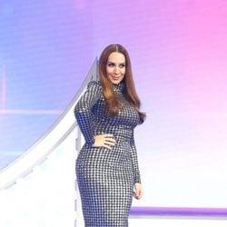 Mónica Naranjo posa en la Gala 6 de 'OT 2017'