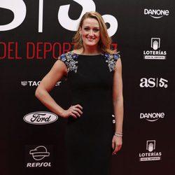 Mireia Belmonte en la alfombra roja de los Premios AS 2017
