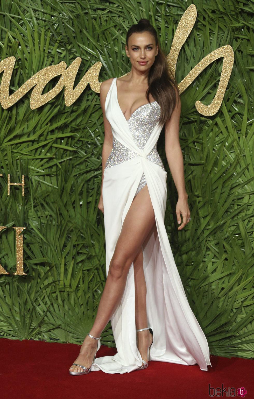 Irina Shayk En Los British Fashion Awards 2017