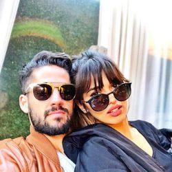 Sara Sálamo e Isco Alarcón en su primera fotografía juntos