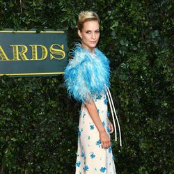Poppy Delevingne en los British Fashion Awards 2017